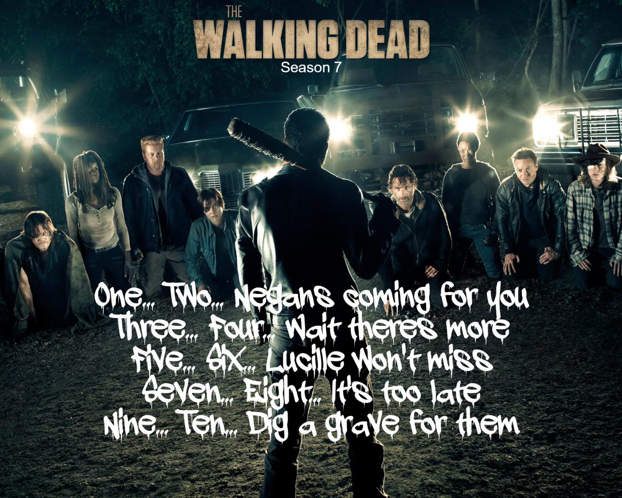 Free Download The Walking Dead Negan Wallpaper Hd Wallpapers