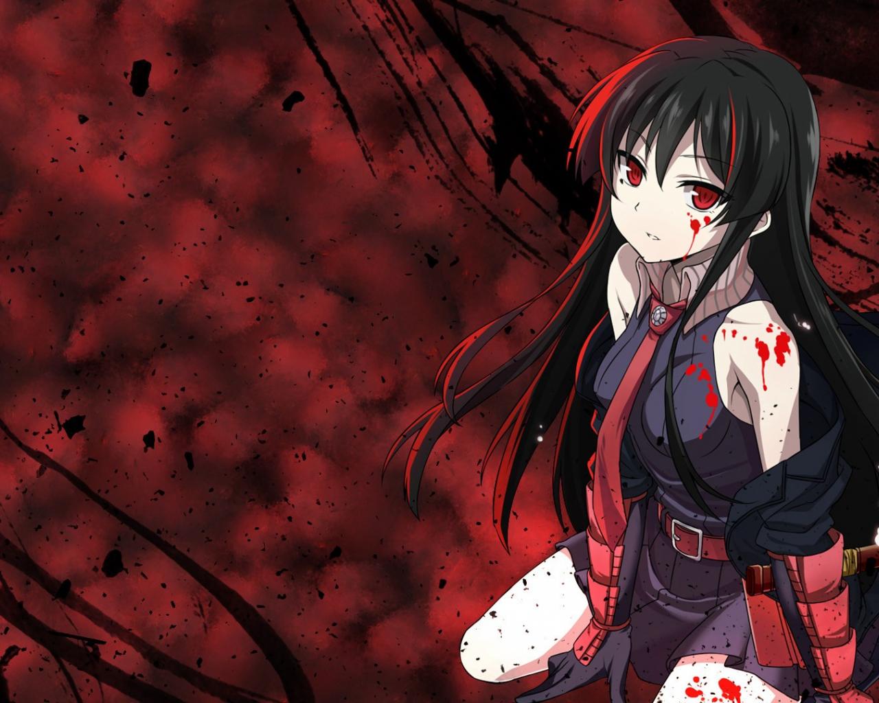 Free Download Anime Girls Akame Ga Kill Akame Wallpaper Anime