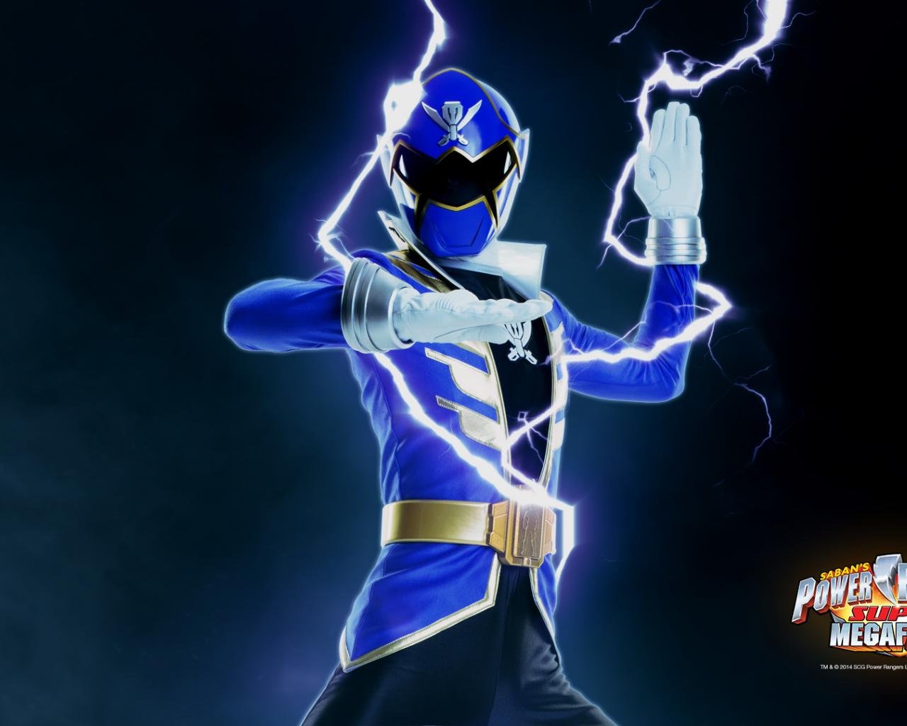 Free Download Power Rangers Wallpaper Super Megaforce Blue Fun