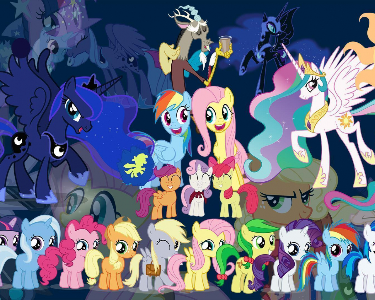 Free Download My Little Pony Wallpapers 1920x1080 For Your