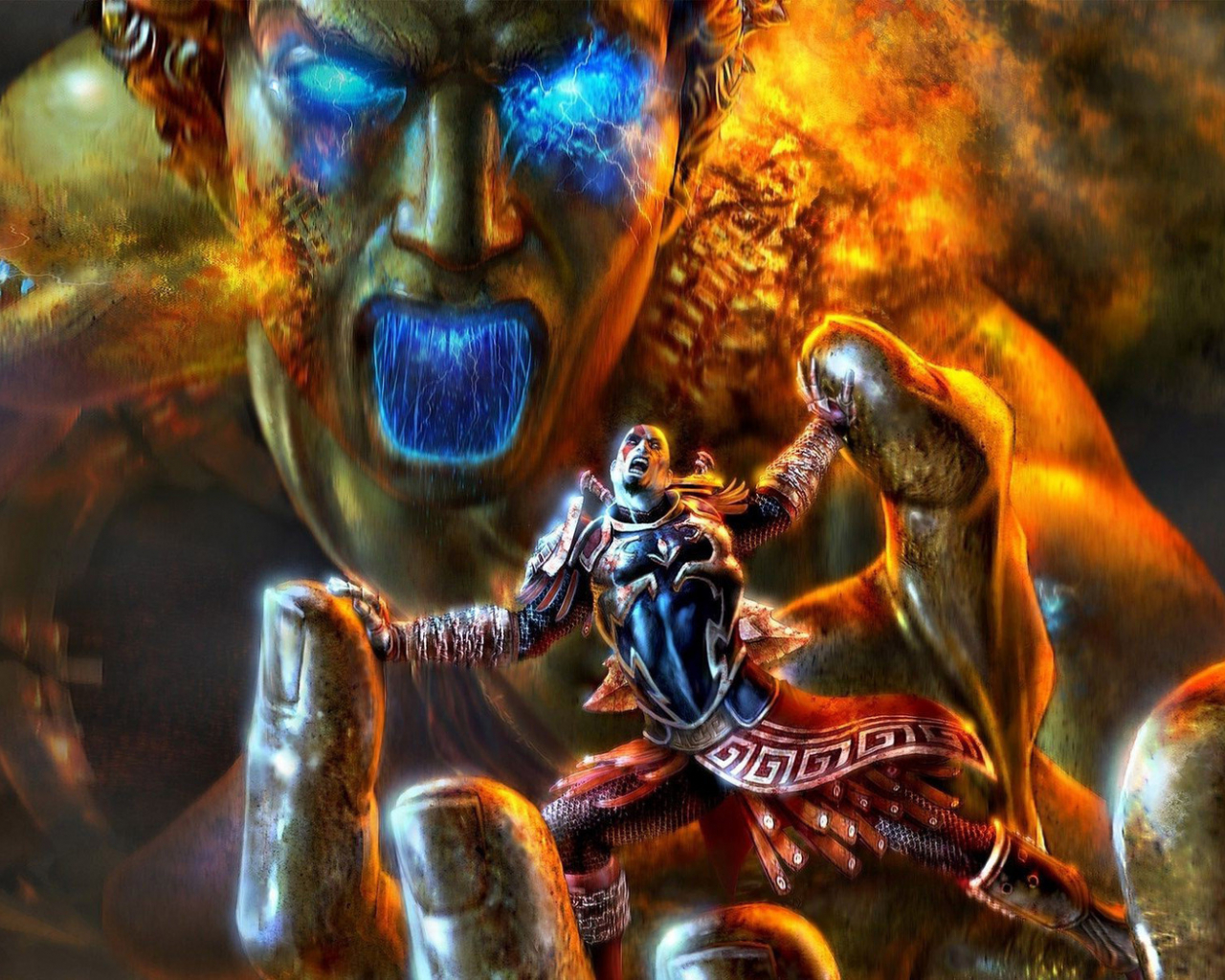 Free Download Kratos God Of War Wallpaper Game Wallpapers 12357