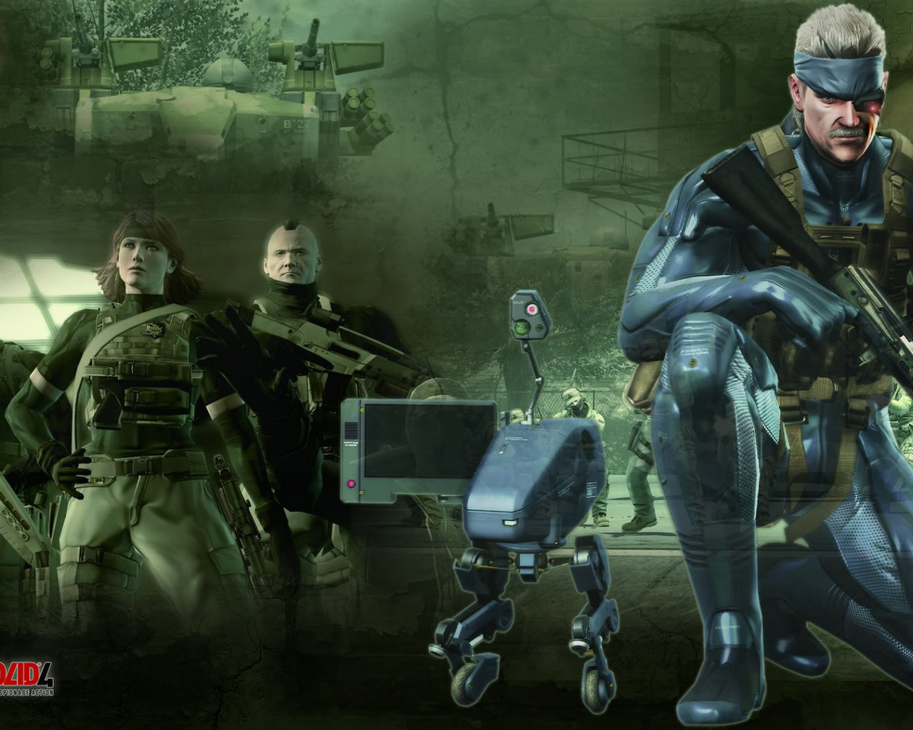 Free Download Metal Gear Solid 4 Wallpaper Metal Gear Solid 4