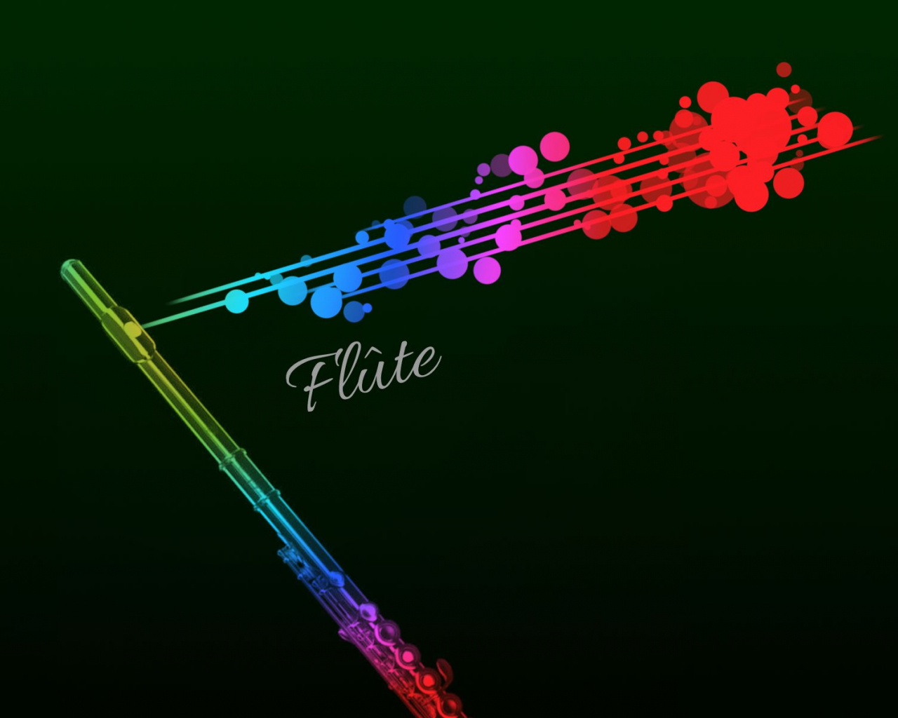 Free Download Rainbow Flute Wallpaper P In 2019 Band Nerd