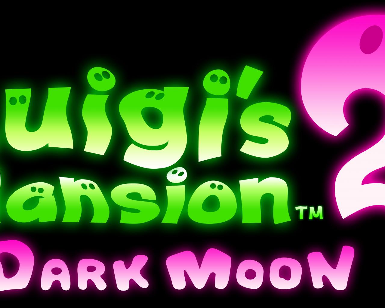 Free Download Luigi S Mansion 2 Dark Moon Logo Render By