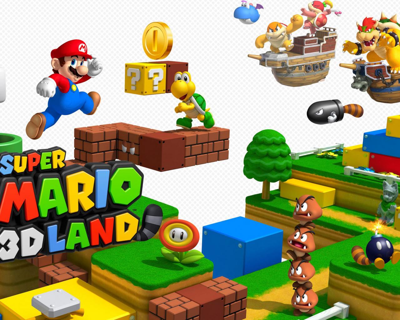 Free Download 2260514 Super Mario 3d Land Wallpaper 2560x1396
