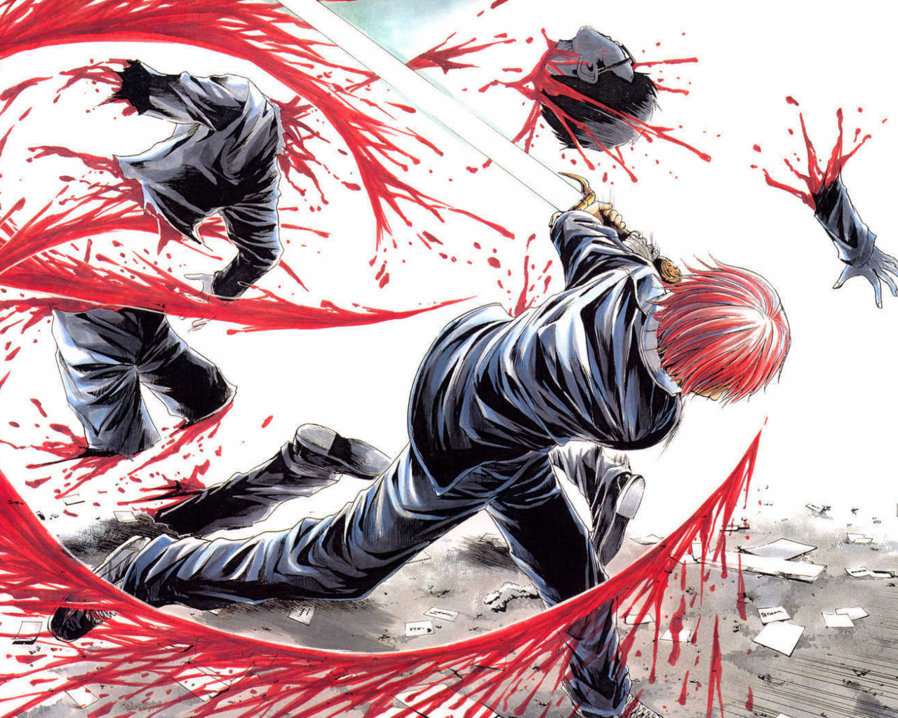 Free download violent anime wallpaper Images Frompo 1