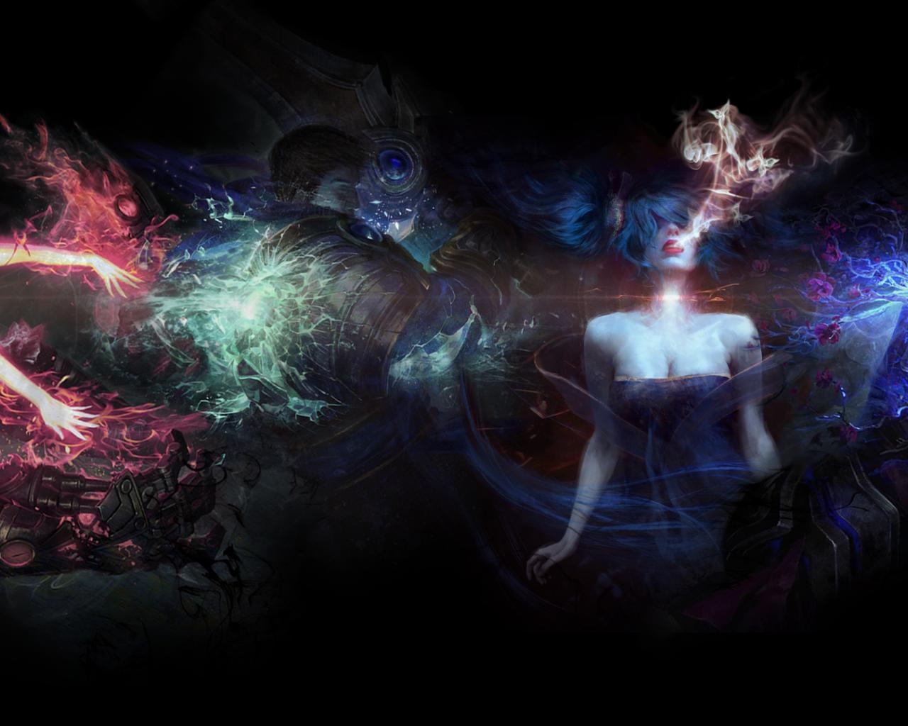 Free Download Jhin Teasing Wallpaper Fan Art League Of Legends