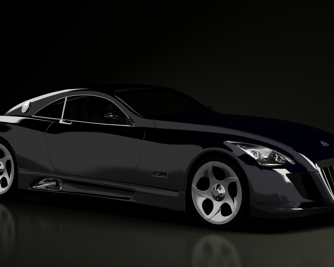 Free download Best 41 Maybach Exelero Wallpaper on ...