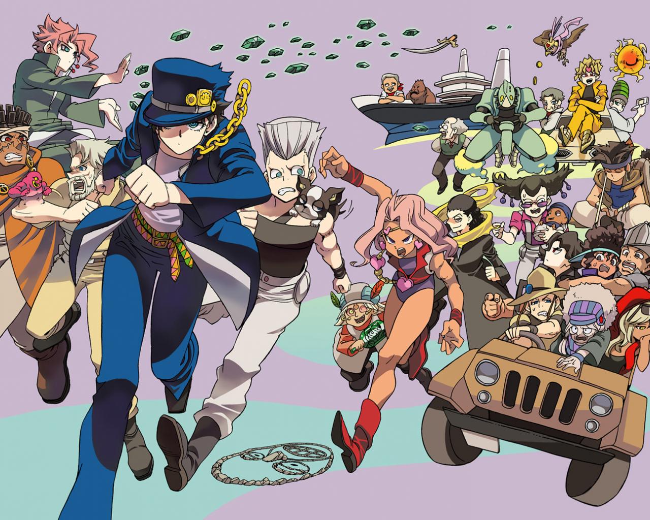 Free Download Anime Wallpapers Jojos Bizarre Adventure Anime