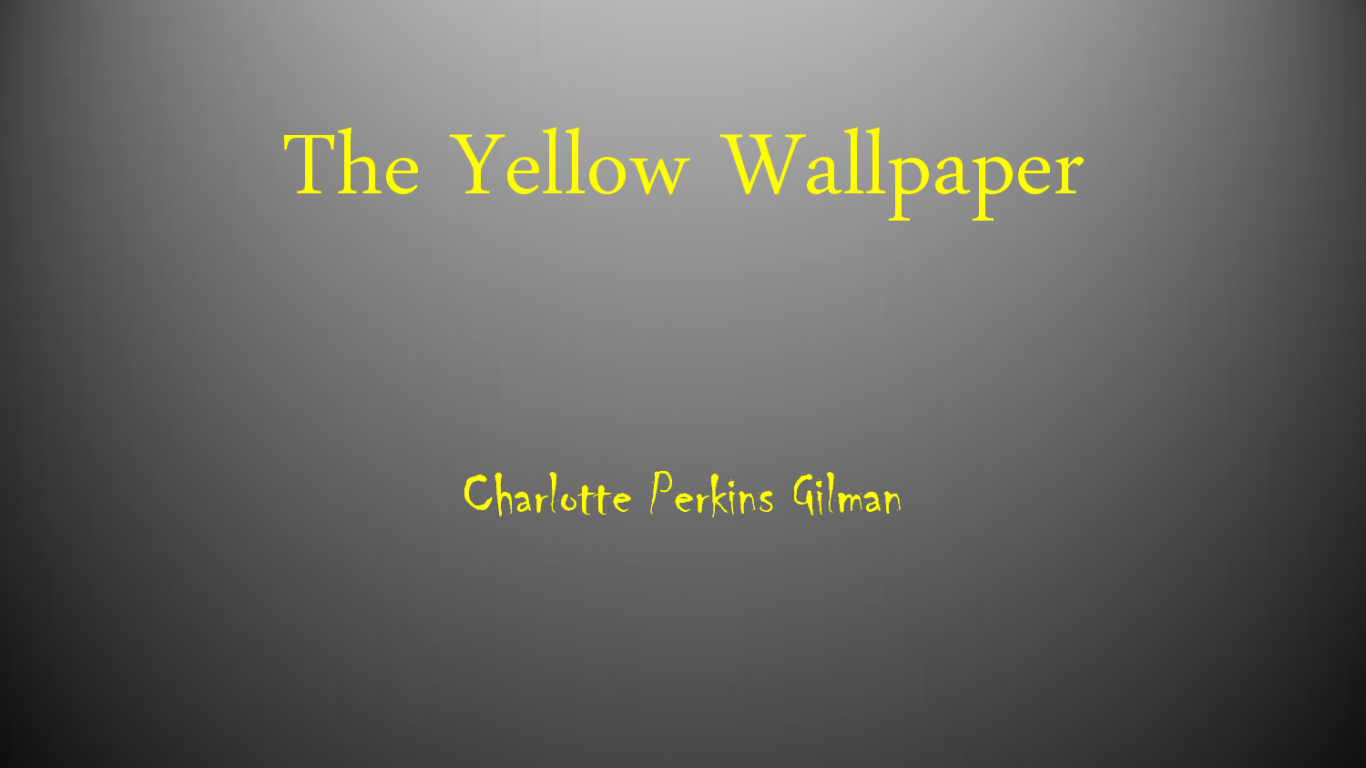 the yellow wallpaper obsession overcomes oppression And cathy forde, writer of the much-loved novel fat boy swim, the story of an overweight child who overcomes bullies, will chat about that book being adapted into a musical theatre piece by.