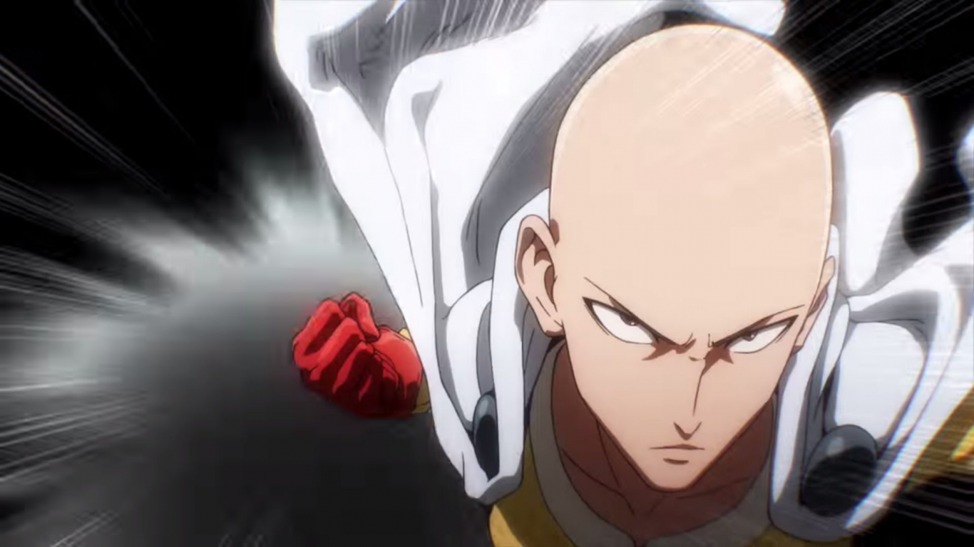 Free Download One Punch Man Ready For Punch Wallpaper Hd
