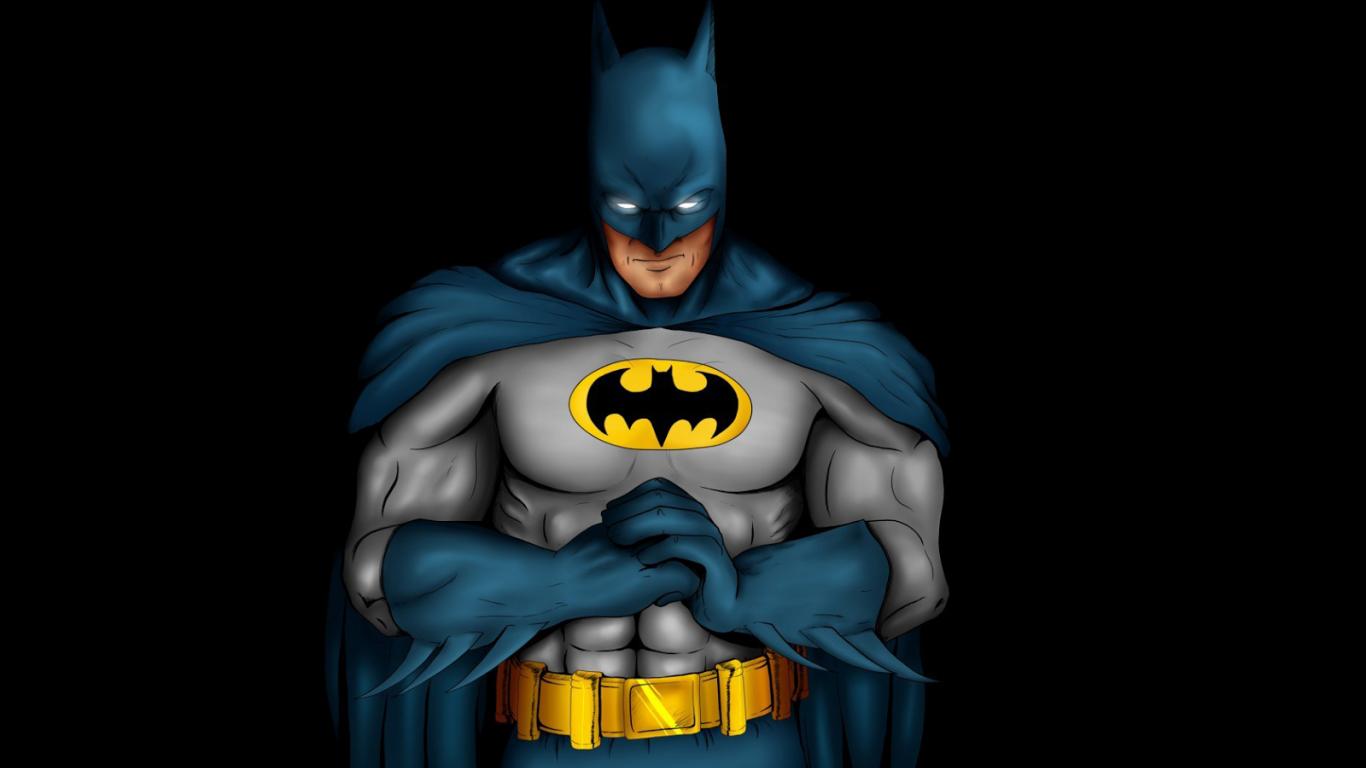 1600x1000px Animated Batman Wallpaper