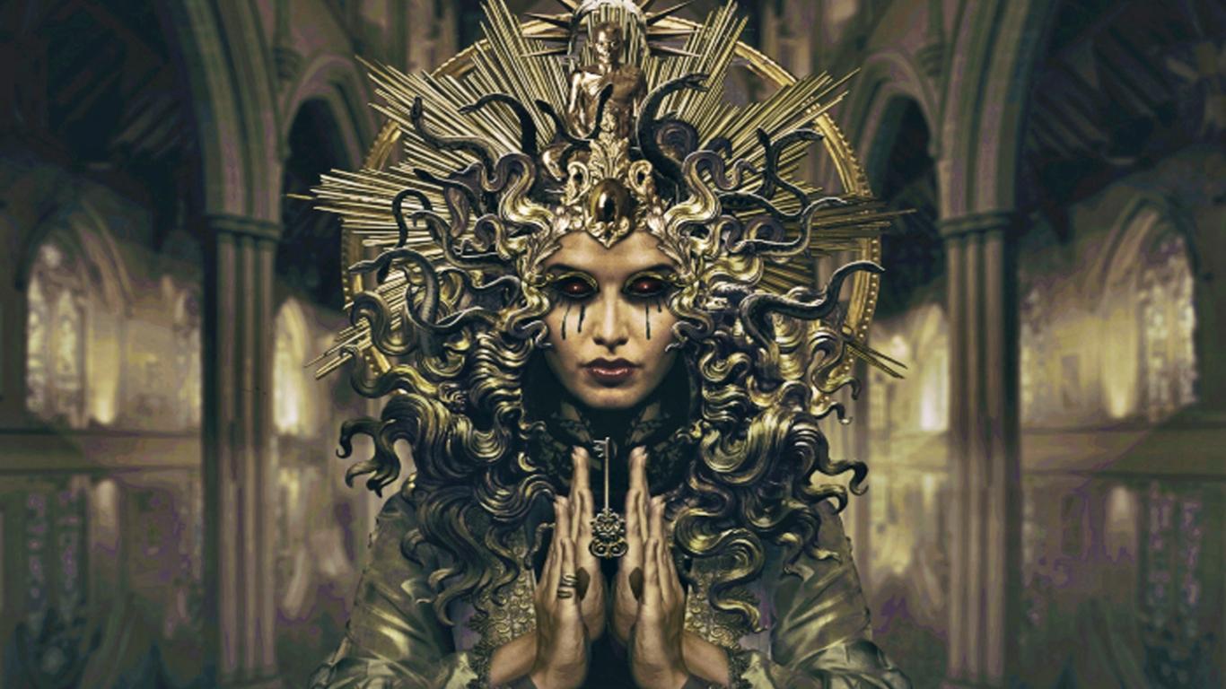 Fantasy images Medusa HD wallpaper