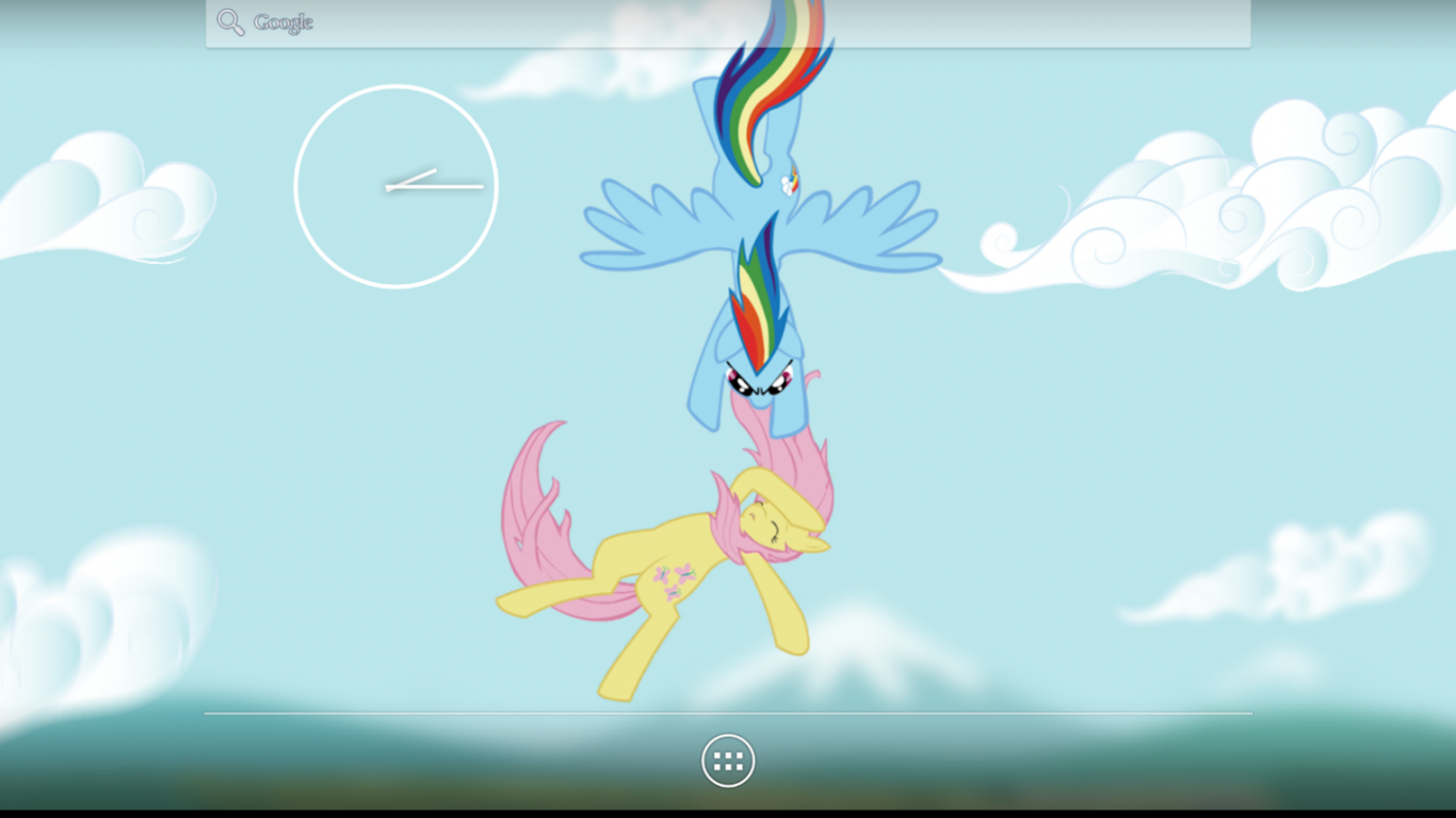 Free Download Description My Little Pony Style Live Wallpaper With