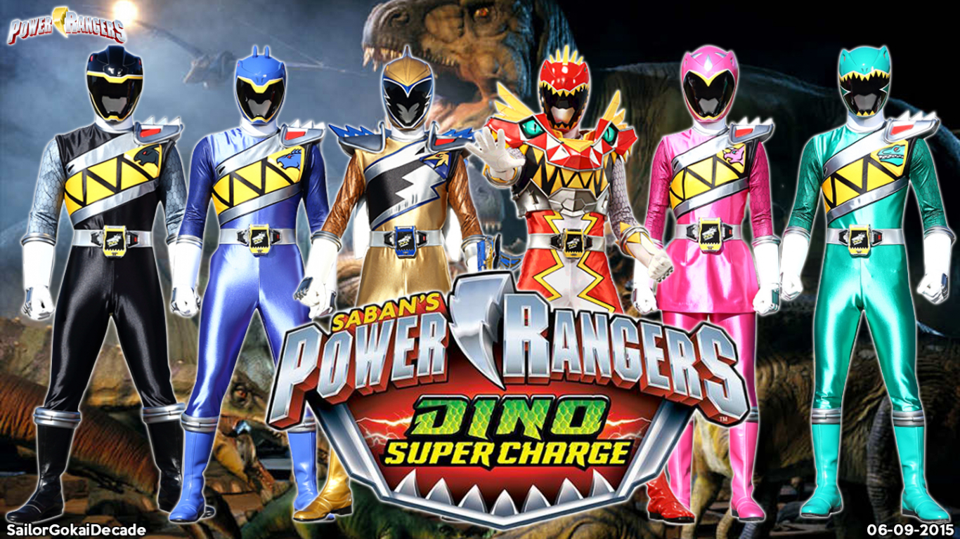 Free Download Power Rangers Dino Supercharge Wp By Jm511 1440x810