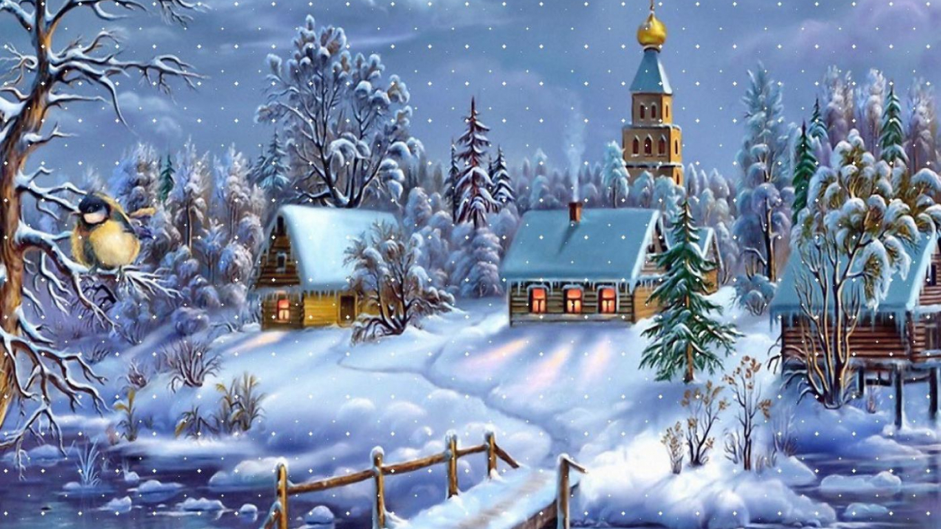 Free Download Christmas Animated Wallpaper Download Hd Wallpapers