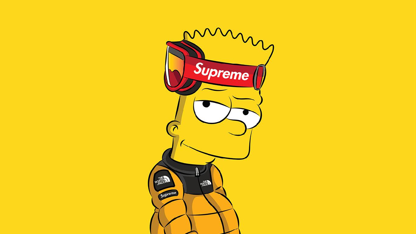 Free download Supreme Bart Simpson Wallpapers Top Supreme ...