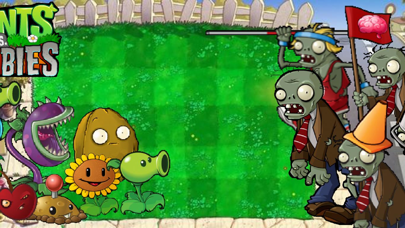 Фото картинки растения против зомби