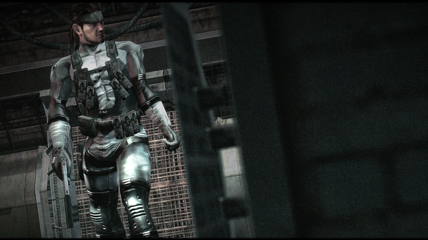 Free Download Metal Gear Solid 2 Solid Snake Hd By Weskerfan1236