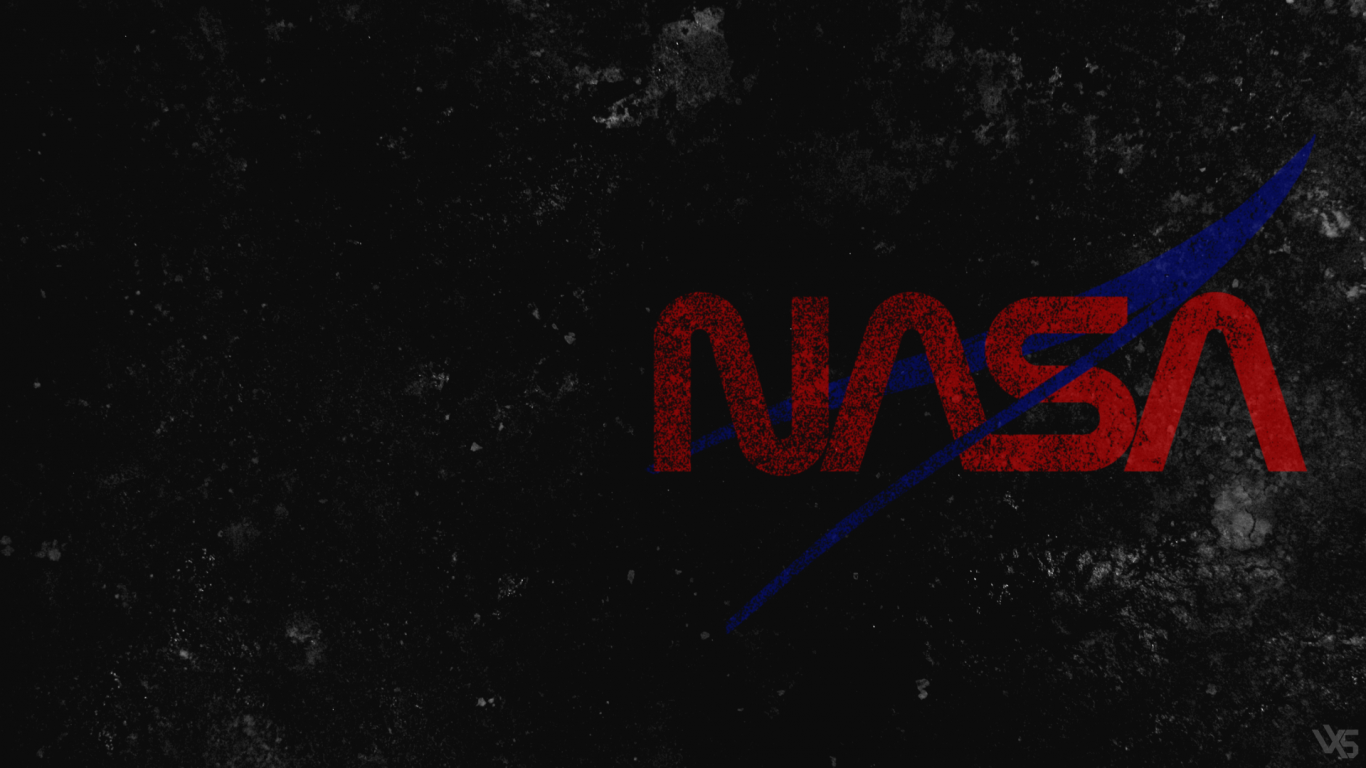 nasa desktop logo - HD1366×768