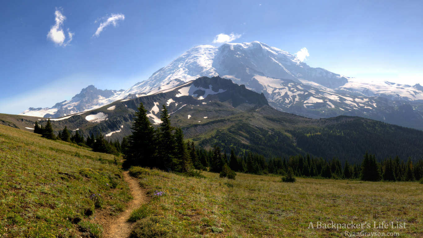 Free Download Desktop Background Mount Rainier From The Wonderland Trail A 1440x900 For Your Desktop Mobile Tablet Explore 40 Hiking Trail Wallpaper Hiking Desktop Wallpaper Backpacking Wallpaper