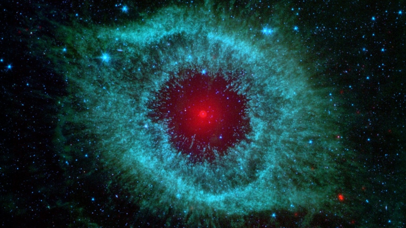 helix nebula eye of god - HD 1366×768