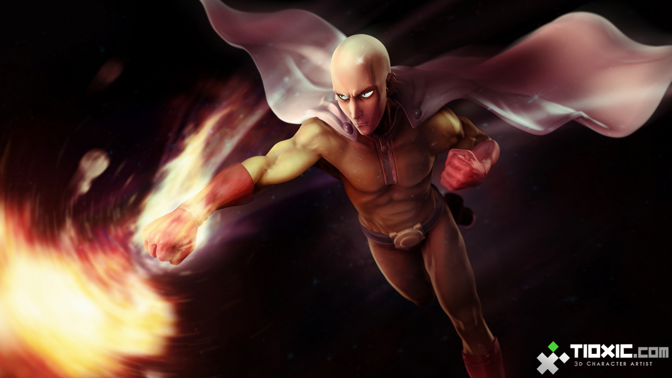 Free Download One Punch Man Hd Wallpaper 1920x1080 For