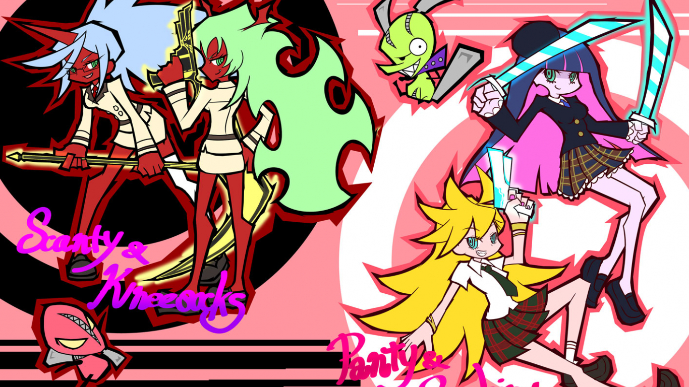Free Download Panty Amp Stocking With Garterbelt Wallpaper And