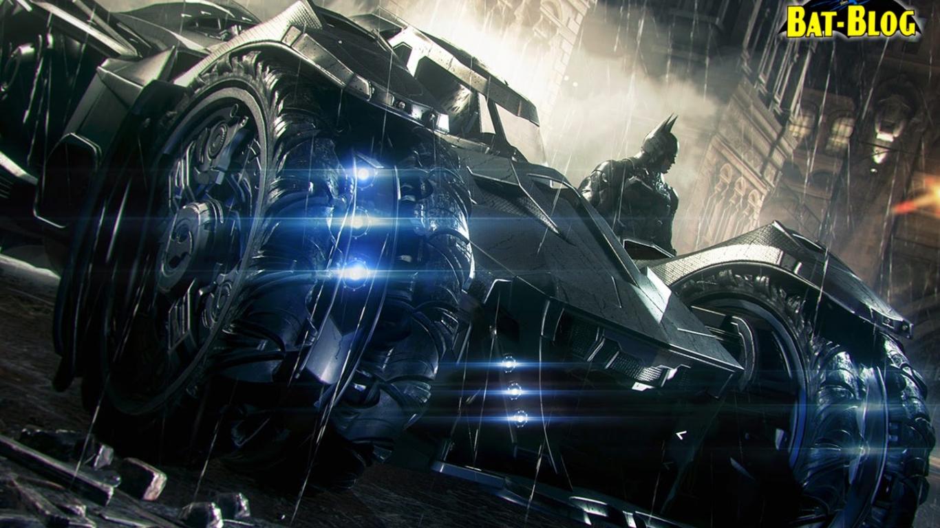 Free Download Batman Arkham Knight Batmobile Car Desktop Wallpaper