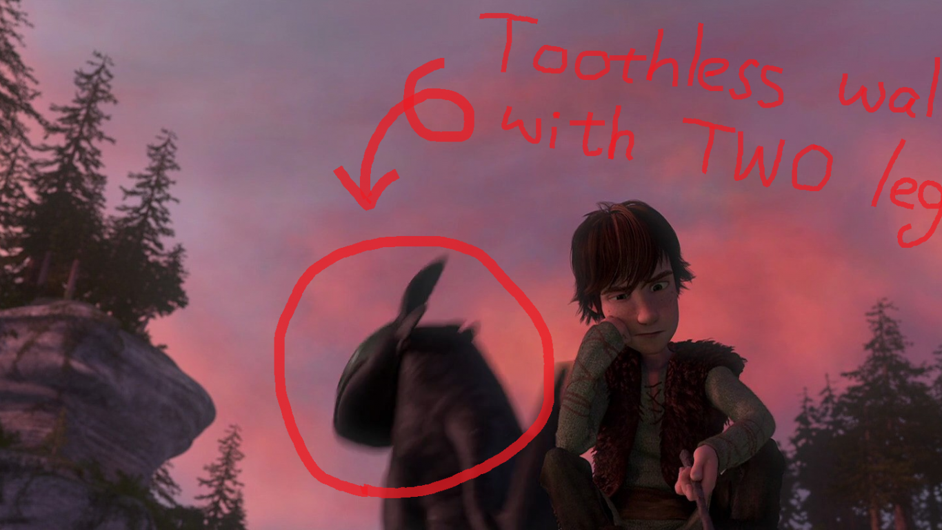 Free Download How To Train Your Dragon 2 Nightfury Character