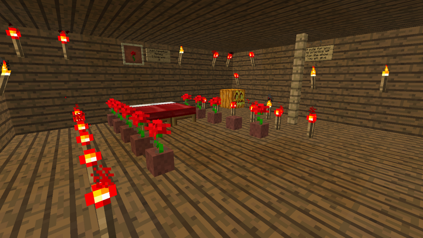 Free Download Crazy World Game Romantic Room In Minecraft Private Server 1600x838 For Your Desktop Mobile Tablet Explore 50 Minecraft Wallpaper For Rooms Minecraft Wallpaper For Your Bedroom Minecraft