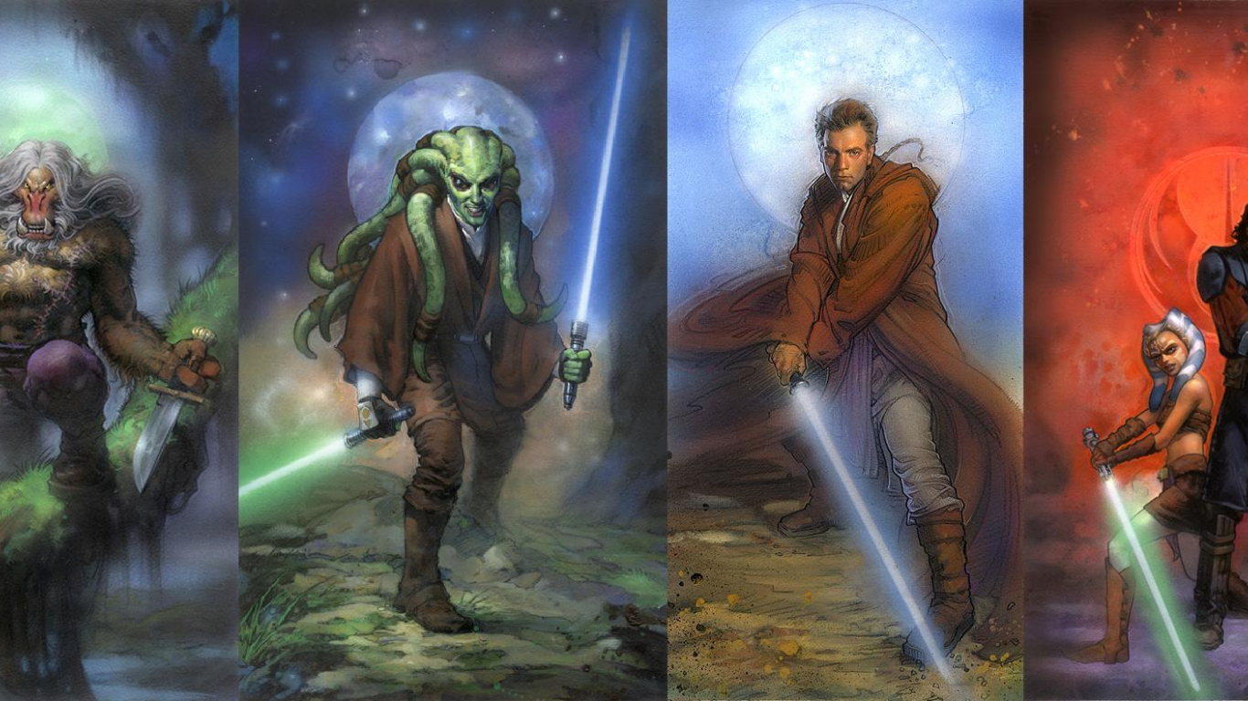 Free Download Star Wars Jedi Wallpaper By Masterbarkeep Fan Art