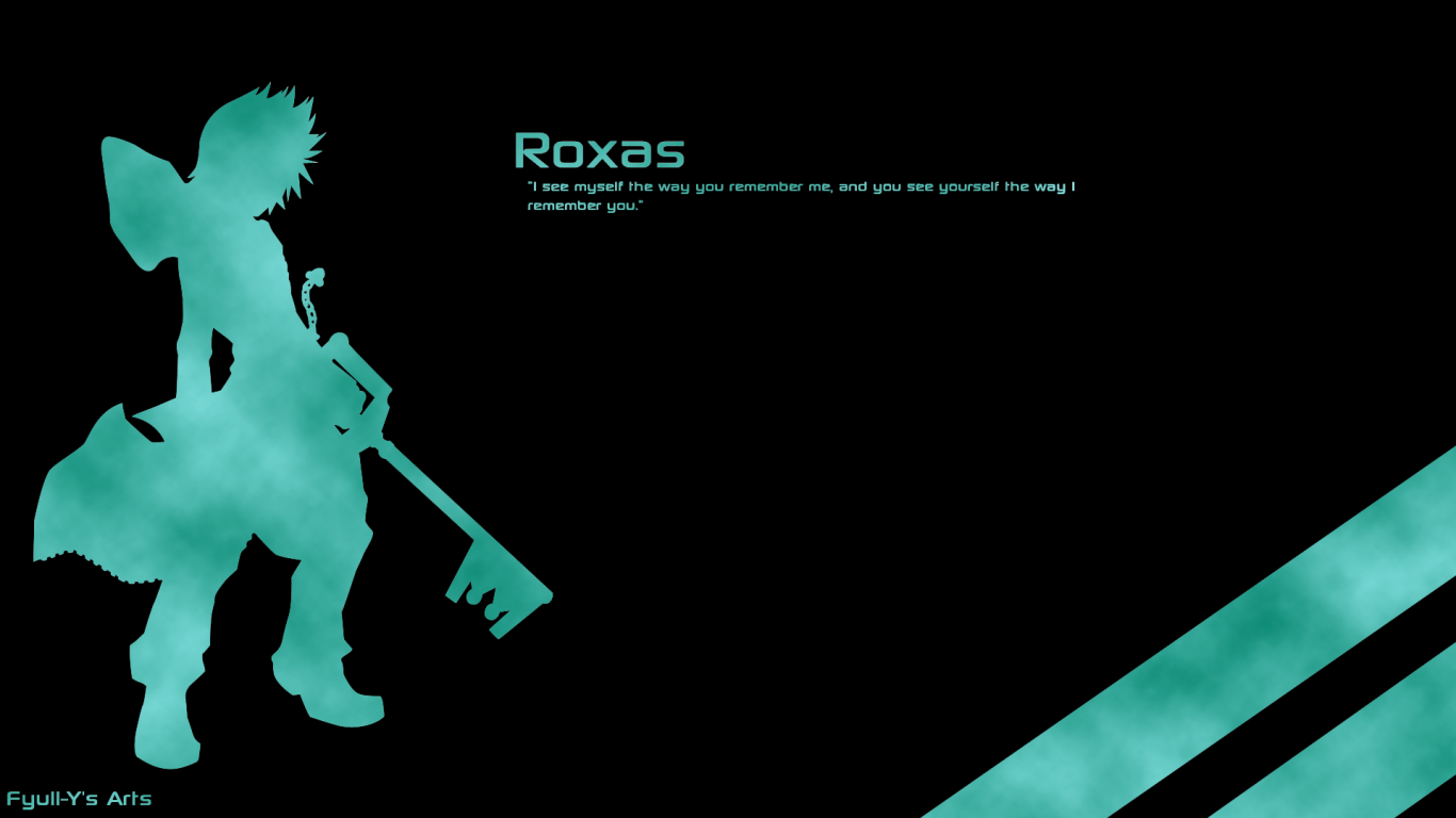 1920x1080px Kingdom Hearts 2 Roxas Wallpaper