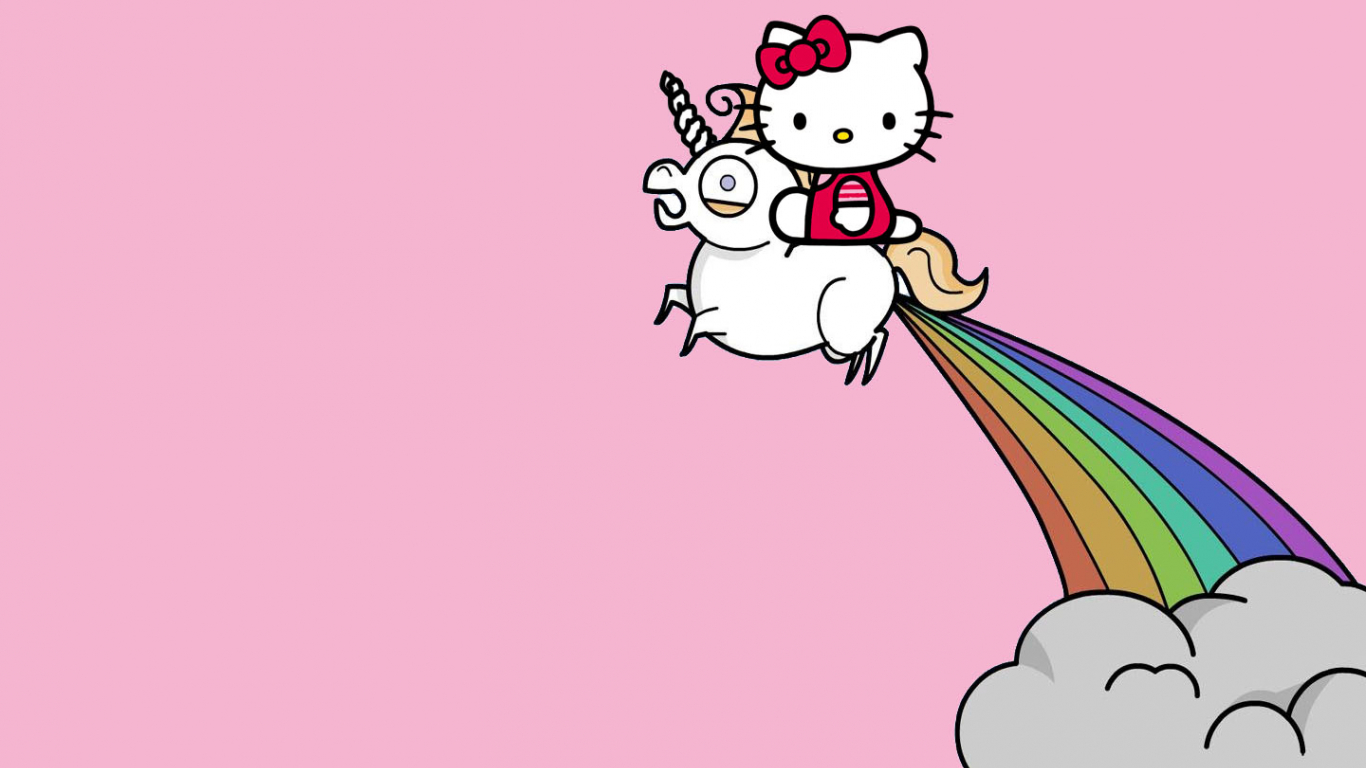 cute unicorn wallpapers - HD1366×768