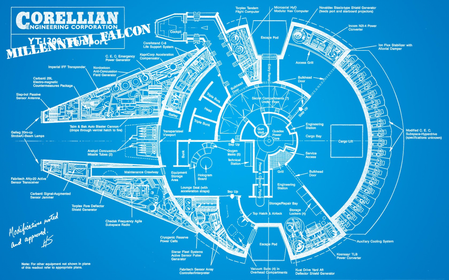 Star Wars Blueprint Wallpaper