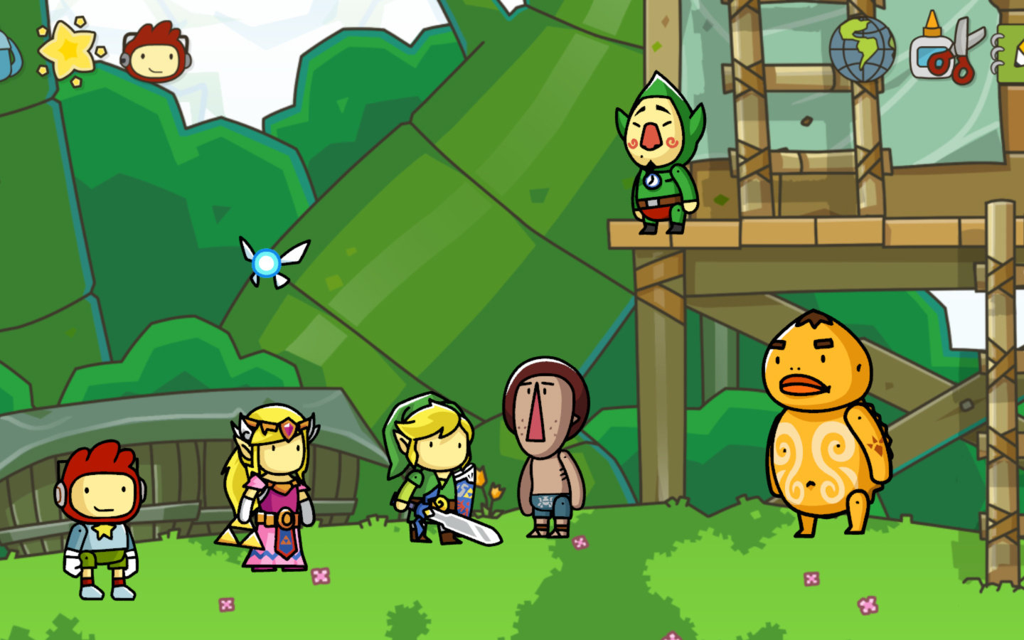 Free download this scribblenauts unlimited wallpaper is