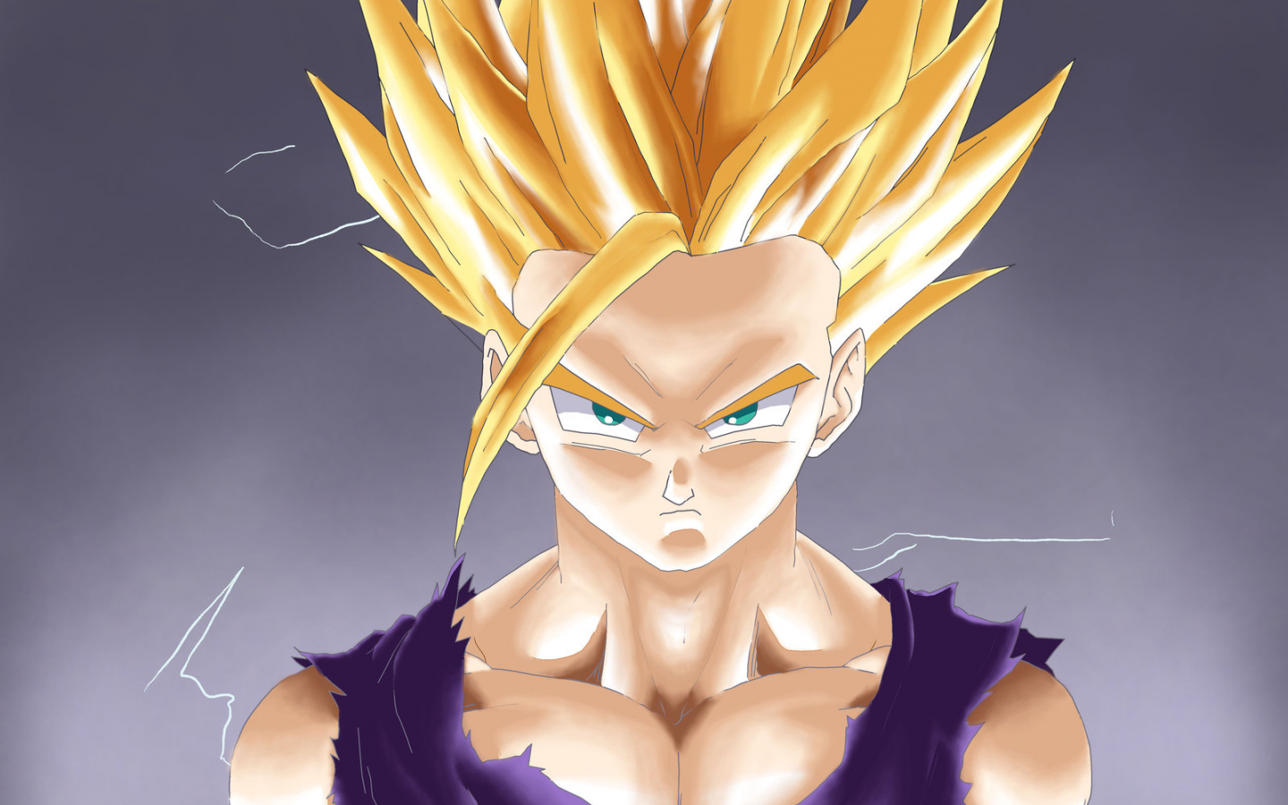 Free Download Super Saiyan 2 Gohan Wallpaper Teen Gohan Dragon