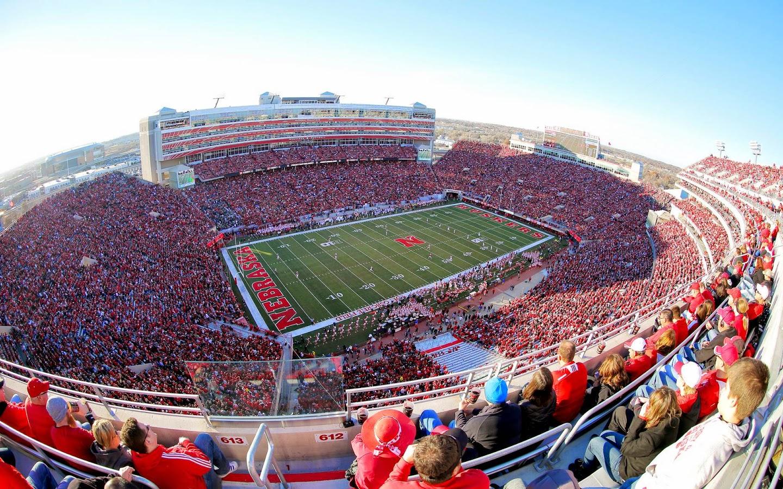 Free download Nebraska Huskers Memorial Stadium seats over ...