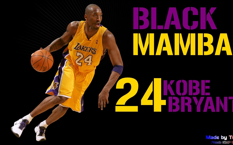Free Download Funmozar Kobe Bryant Wallpaper Black Mamba 1600x900