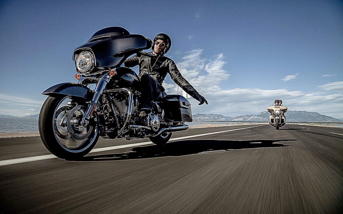 Free Download Harley Davidson Street Black Hd Wallpaper Wide