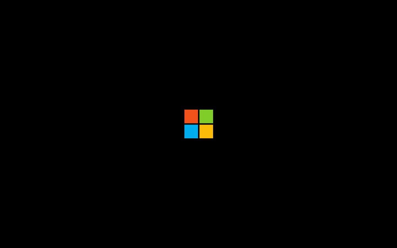 Free download Microsoft Logo 4k 32 Black Wallpaper Album ...