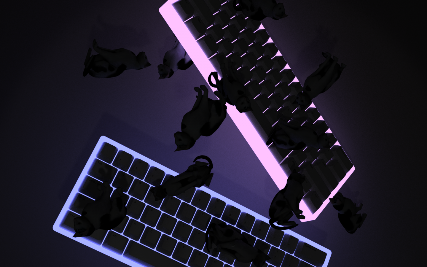 Free Download 60 Keyboards Falling With Cats 4k Aesthetic Wallpaper 1920x1080 For Your Desktop Mobile Tablet Explore 51 Aesthetic 4k Wallpapers Aesthetic 4k Wallpapers Aesthetic Wallpapers 4k Night Aesthetic 4k Wallpapers