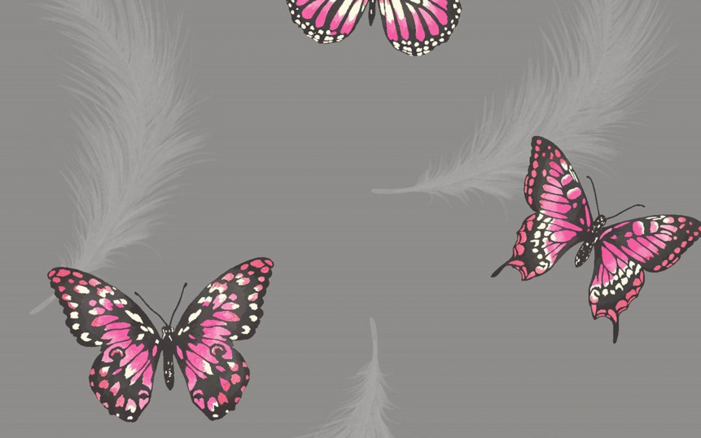 Free download Girls Bedroom Butterfly Wallpaper in Pink ...
