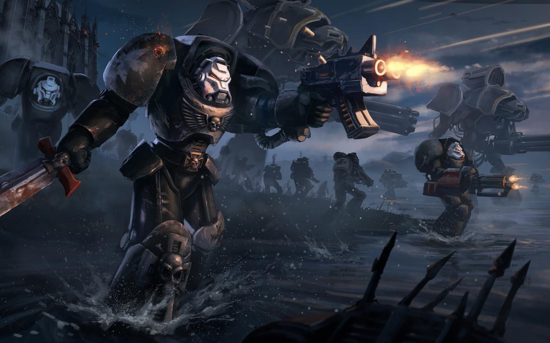 Free Download Warhammer 40k Black Templars Terminator Tribute By