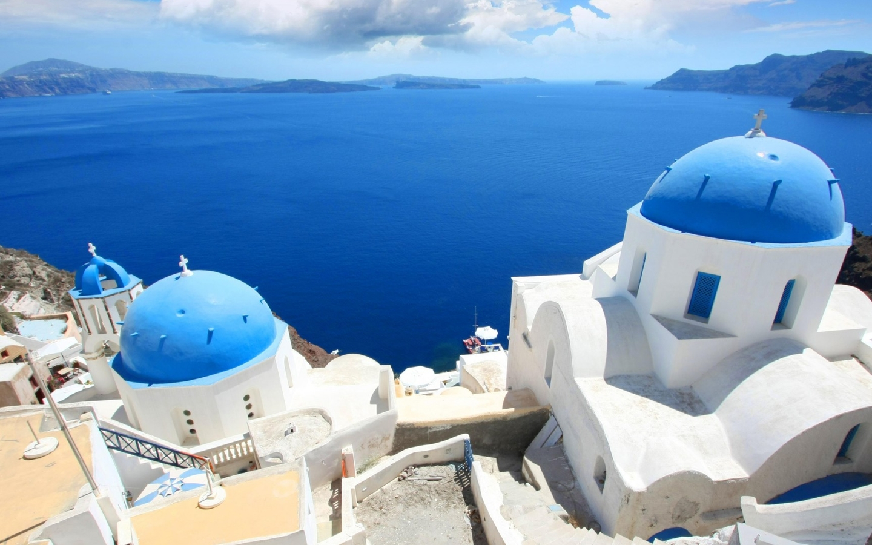 Free Download Santorini Beautiful Wallpaper 49347 World Wallpapers