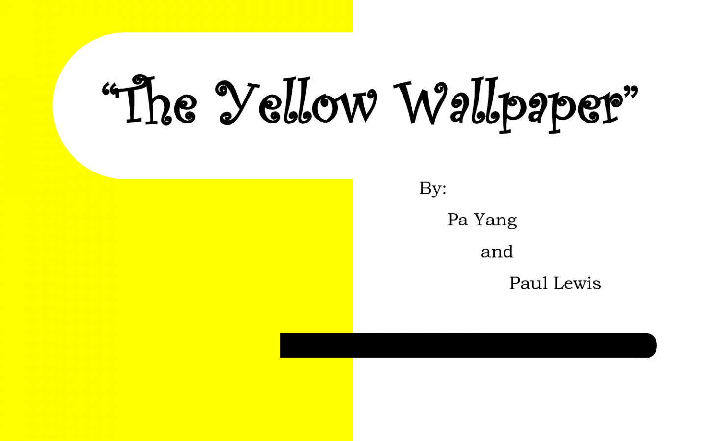 Free Download Yellow Wallpaper Essay Thesis 1500x1125 For