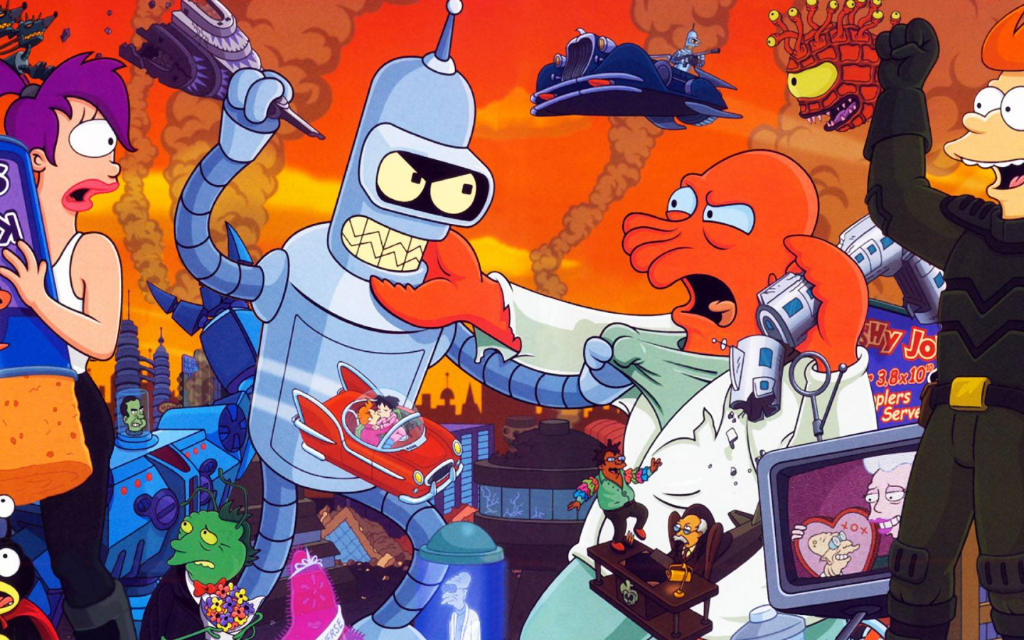 Free download Futurama Wallpapers 1920x1080 for your ...