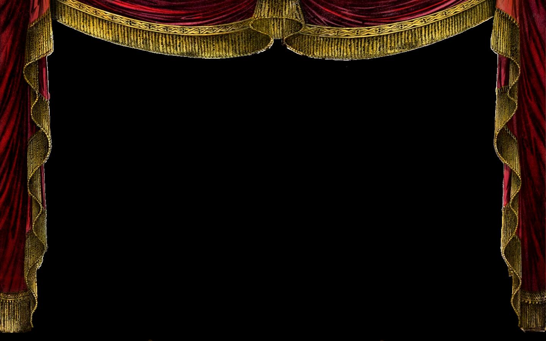 Картинка для презентации театральный занавес с прозрачным