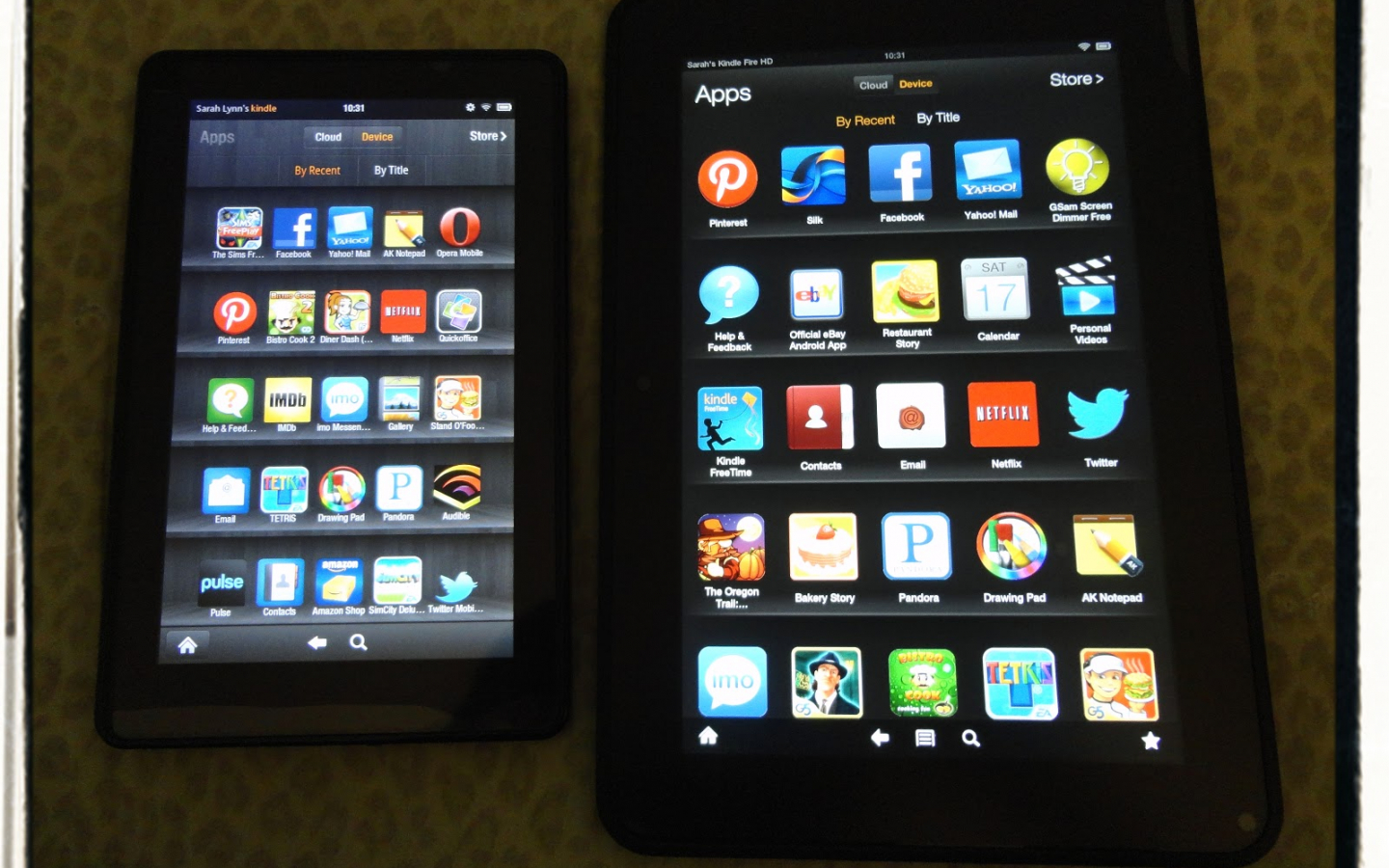 Free download Kindle Fire Size Comparison PC Android iPhone