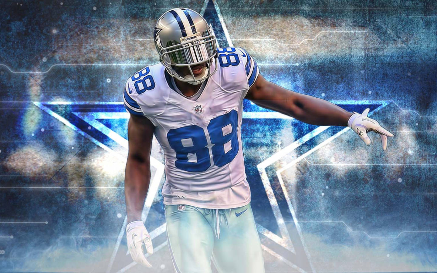 Free Download Dez Bryant Wallpaper 1600x950 For Your